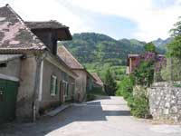 Photo : Ancien chemin de la route du Col