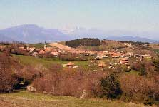 Photo : Vue du village de Lalley