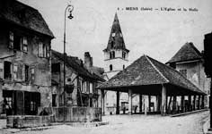 Photo : L'église et la halle